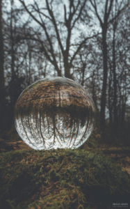Lens ball glass ball